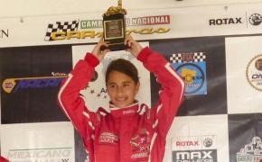 En Rotax Junior Alexandra Mohnhaupt encabeza elcampeonato