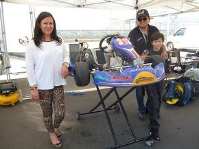Manuel Palacios, va por el primer lugar en Rotax MiniMax
