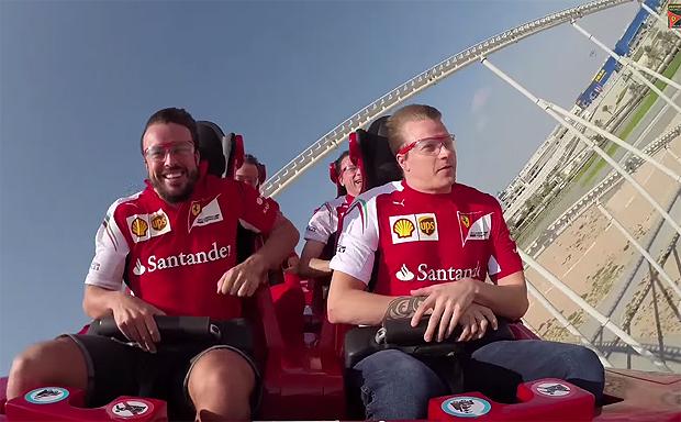 Foto: Ferrari World Abu Dhabi.