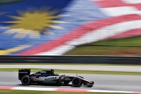 Checo y Nico  no alcanzaron puntos en el GP deMalasia