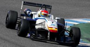 Diego Menchaca, por su primera carrera en F3EuroFórmula