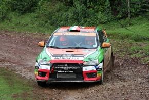 Benito Guerra, tercero en el Rally SierraJuárez