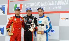 Menchaca logra podio de novatos y sexto general enMonza