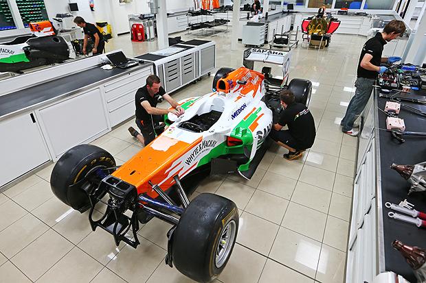Foto: Force India F1 Team.