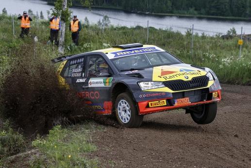 Foto: Lockdown Rally Suecia.